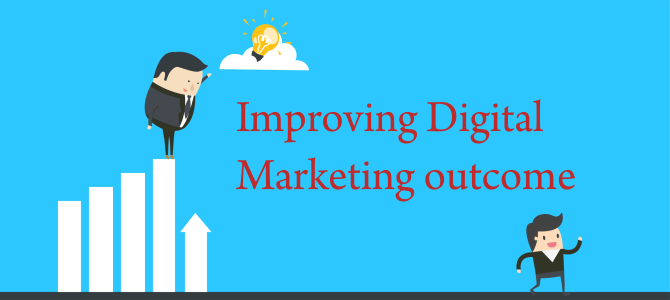 Improving Digital Marketing outcome by understanding consumers' online behavior